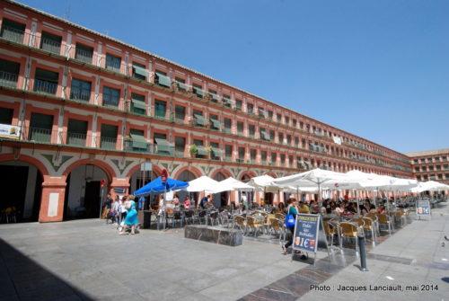 Plaza de la Corredera, Cordoue, Andalousie, Espagne