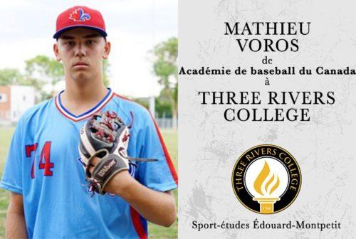 Mathieu Voros, Three Rivers College, Missouri