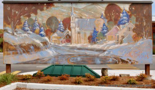 Village d'antan, Gilles Bédard, Sainte-Adèle, Québec