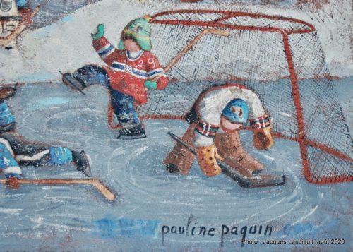 Sur le lac Rond, Pauline T. Paquin, Sainte-Adèle, Québec