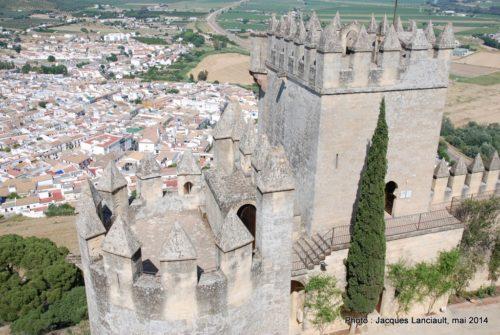 Castillo de Almodóvar, Almodóvar del Río, Andalousie, Espagne