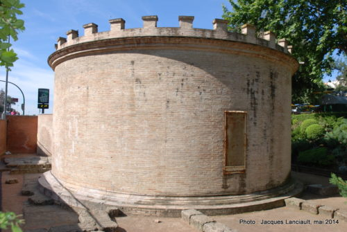 Mausolée romain, Jardins de Victoria, Cordoue, Andalousie, Espagne