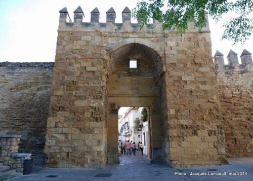 Puerta de Almodóvar, Cordoue, Andalousie, Espagne