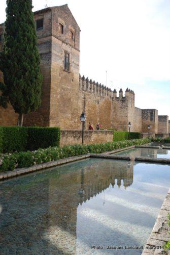 Muralla de la calle Cairuán, Cordoue, Andalousie, Espagne