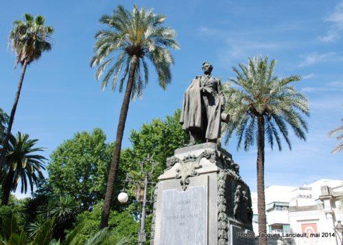Monument du Duque de Rivas, Cordoue, Andalousie, Espagne