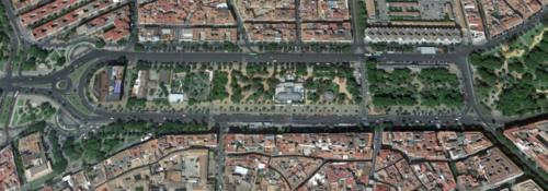 Jardines de la Victoria, Cordoue, Andalousie, Espagne