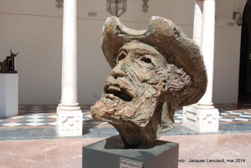 Don Quijote, Exposition Teno Monumental, palacio de la Merced, Cordoue, Andalousie, Espagne