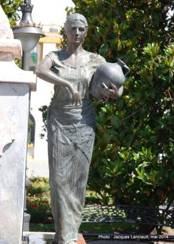 Homenaje a la belleza de la mujer cordobesa, Cordoue, Andalousie, Espagne
