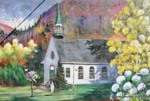 Chapelle sur le lac, Pierrette Joly, Sainte-Adèle, Québec