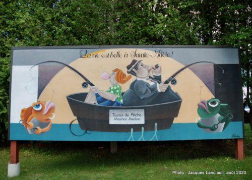 La vie est belle à Sainte-Adèle, Rock Therrien, Sainte-Adèle, Québec