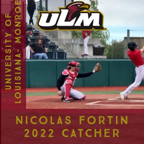 Nicolas Fortin, University of Louisiana-Monroe, NCAA