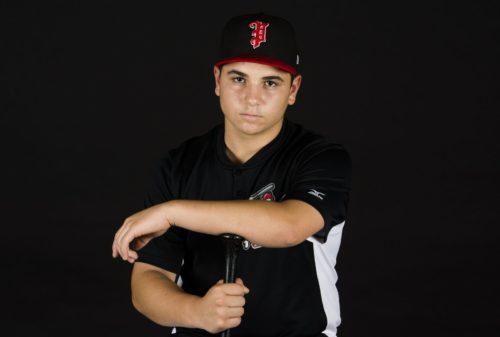 Nicolas fortin,  programme Sport-études Baseballde l'école secondaire de Mortagne