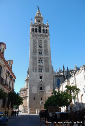 La Giralda, Séville, Andalousie, Espagne