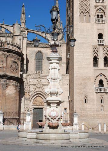 La fuente Fraola, Séville, Andalousie, Espagne