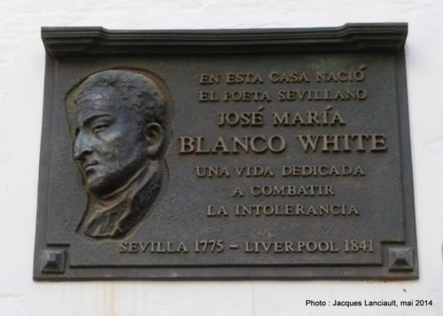 Blanco White. Séville, Andalousie, Espagne