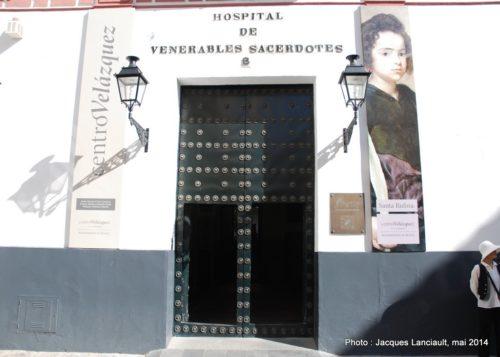 Hospital de los Venerables Sacerdotes, Séville, Andalousie, Espagne