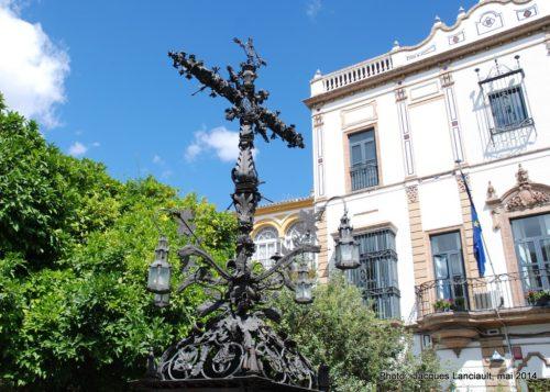 Cerrajería, plazadeSanta Cruz, Séville, Andalousie, Espagne
