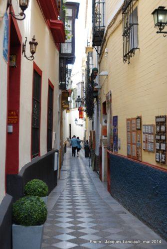 BarrioSanta Cruz, Séville, Andalousie, Espagne