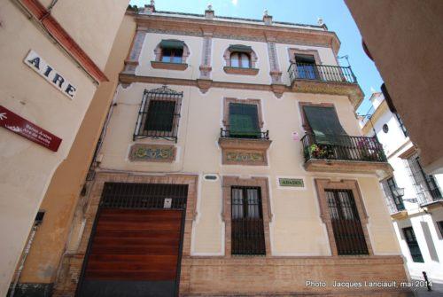 Calle Aire, Séville, Andalousie, Espagne