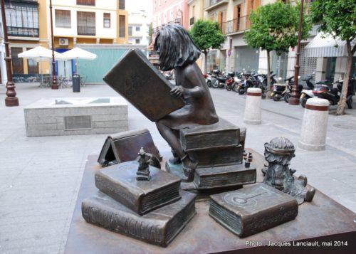 Monument à Clara Campoamor, Séville, Andalousie, Espagne