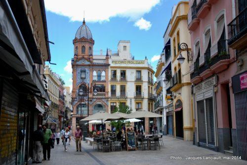 Plaza de Jesús de la Pasión, Séville, Andalousie, Espagne