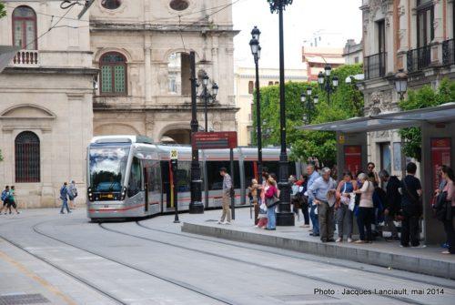 MetroCentro, Plaza Nueva, Séville, Andalousie, Espagne
