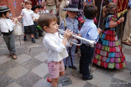 Procession, Séville, Andalousie, Espagne