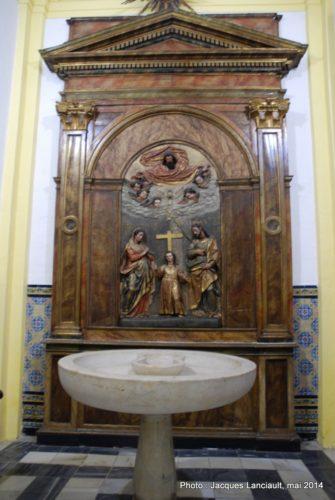 Iglesia de San Ildefonso, Séville, Andalousie, Espagne