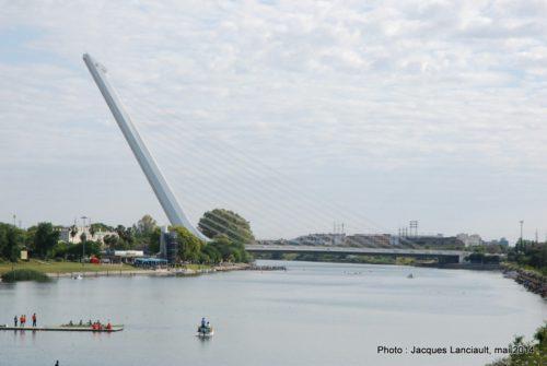 Puente del Alamillo, Séville, Andalousie, Espagne