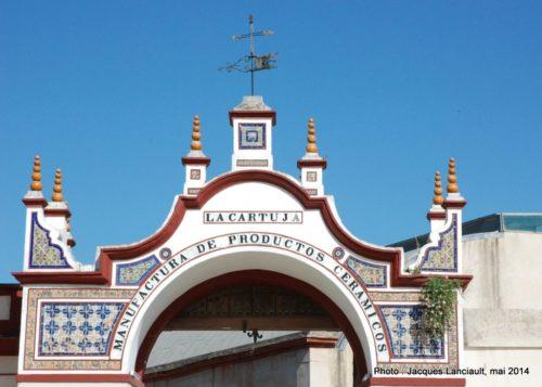 La Cartuja, manufactura de productos ceramicos, Isla de la Cartuja, Séville, Andalousie, Espagne