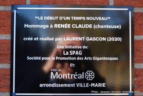 Renée Claude, Laurent Gascon, Montréal, Québec