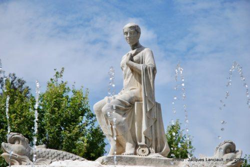 Fontaine Hispalis, Séville, Andalousie, Espagne