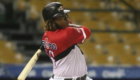 Vladimir Guerrero jr, Leones del Escogido, Ligue de baseball d'hiver de République dominicaine