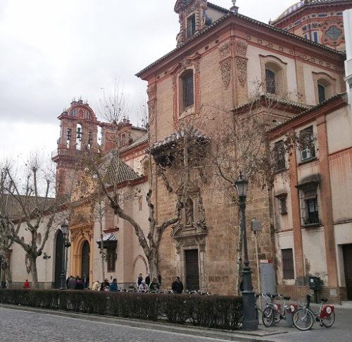 Iglesia de la Magdalena, Séville, Andalousie, Espagne