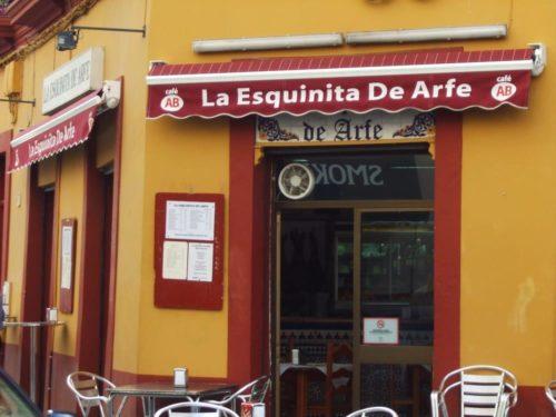 La Esquinita de Arfe, Séville, Andalousie, Espagne