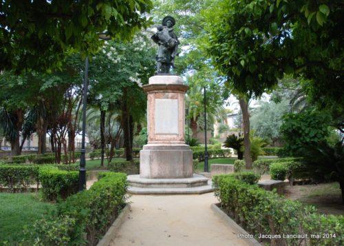 Monument de Miguel deMañara, Hospital de la Santa Caridad, Séville, Andalousie, Espagne