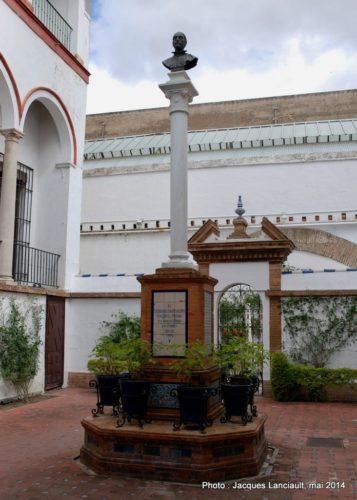 Monument Miguel de Mañara, Hospital de la Santa Caridad, Séville, Andalousie, Espagne