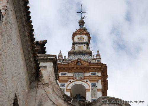 Clocher, Hospital de la Santa Caridad, Séville, Andalousie, Espagne