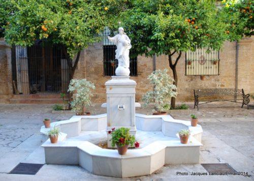 Fontaine, Jerez de la Frontera, Andalousie, Espagne