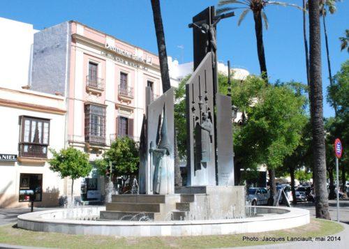 Monumento a las cofradías, Jerez de la Frontera, Andalousie, Espagne