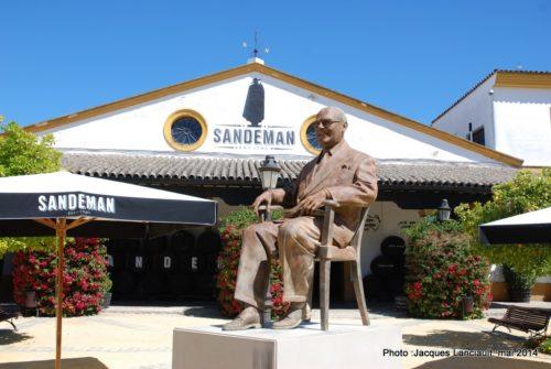 Bodega Sandeman, Jerez de la Frontera, Andalousie, Espagne