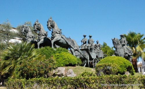 Monumento al Enganche, Jerez de la Frontera, Andalousie, Espagne