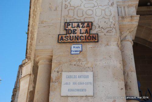 Cabildo Antigo, Jerez de la Frontera, Andalousie, Espagne