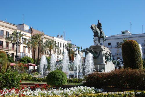 Monumento a Primo de Rivera, Jerez de la Frontera, Andalousie, Espagne
