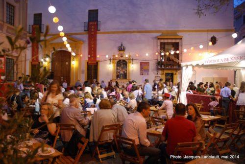 Plaza delMuseo, Séville, Andalousie, Espagne