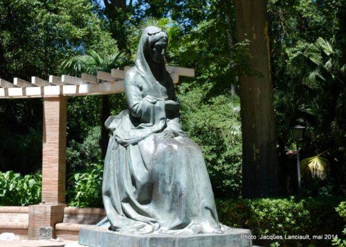 Monumento a la infanta María Luisa, Parque de María Luisa, Séville, Andalousie, Espagne