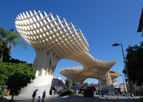 Metropol parasol, Séville, Andalousie, Espagne