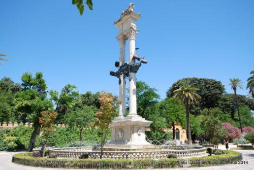 Monumento a Colón, Séville, Andalousie, Espagne