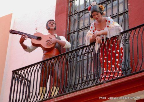 Calle Cuna, Séville, Andalousie, Espagne
