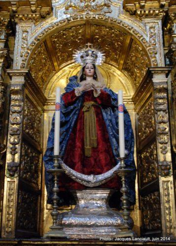 Virgen del Alma Mía, Iglesia de San Antonio Abad, Séville, Andalousie, Espagne